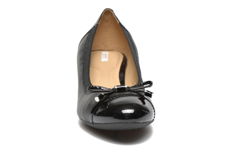 High heels Geox D FLORALIE A D54T4A Black model view