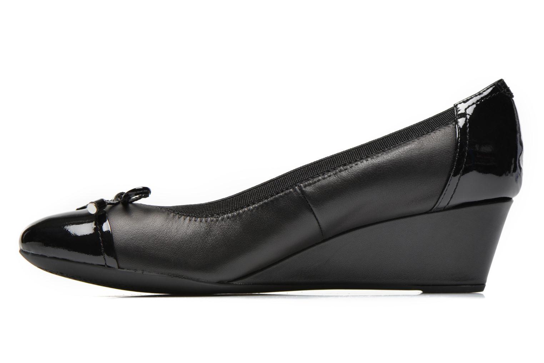 Zapatos de tacón Geox D FLORALIE A D54T4A Negro vista de frente