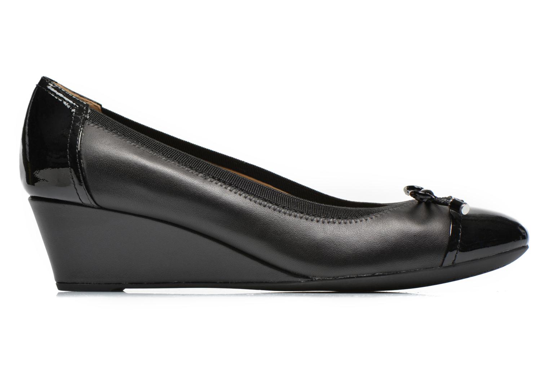 High heels Geox D FLORALIE A D54T4A Black back view