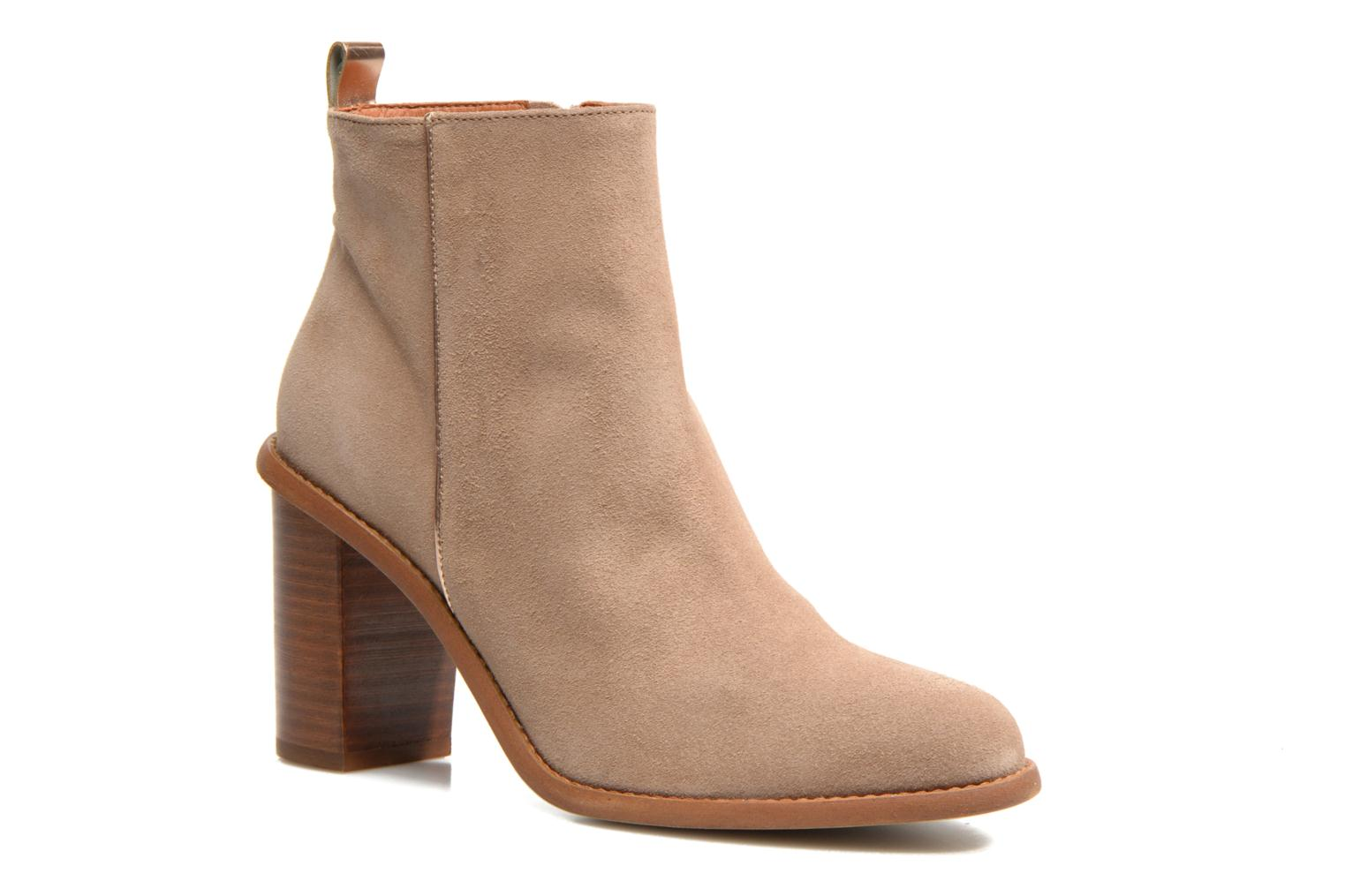 Ankle boots Made by SARENZA Western Fever #5 Beige view from the right