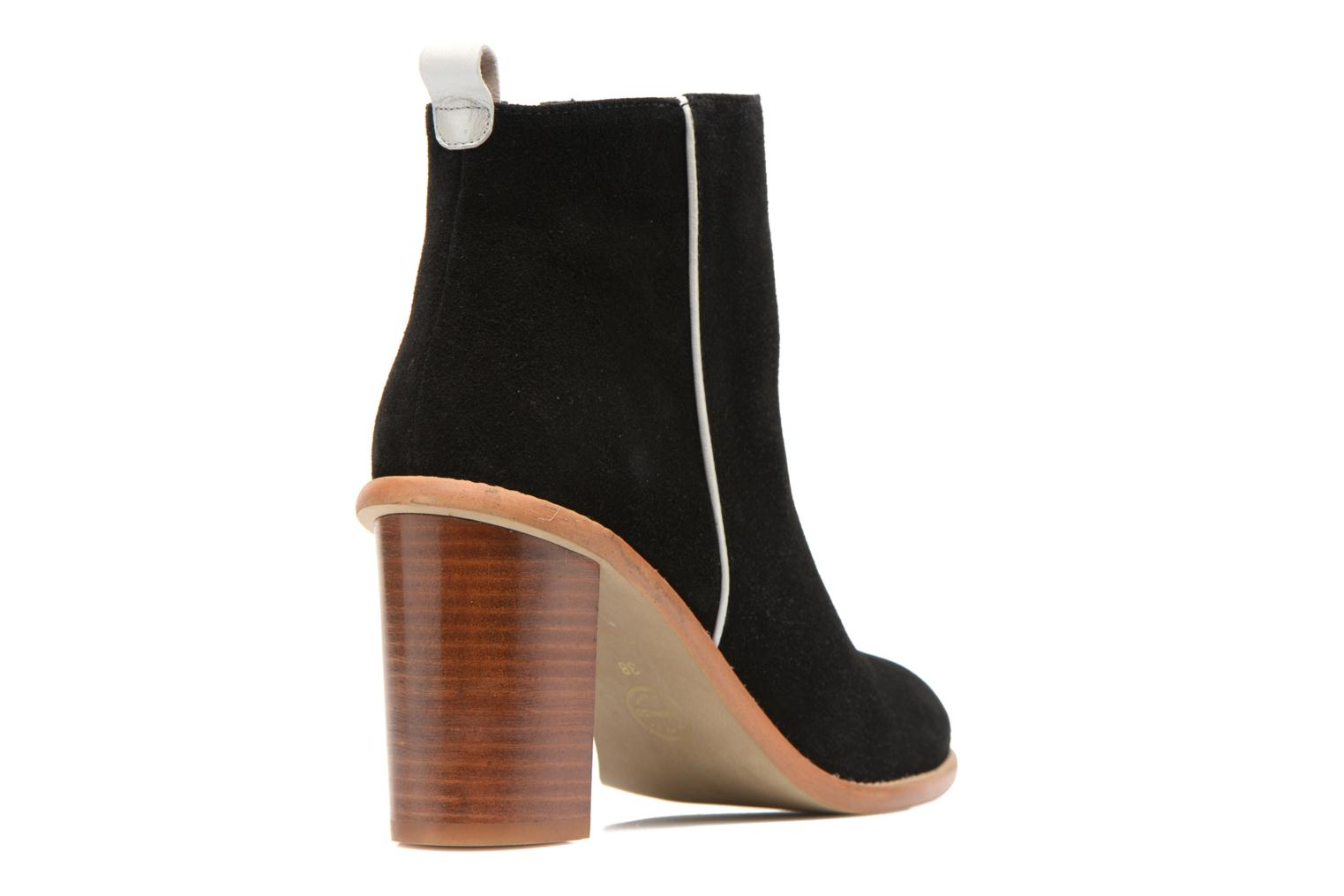 Ankle boots Made by SARENZA Western Fever #5 Black front view