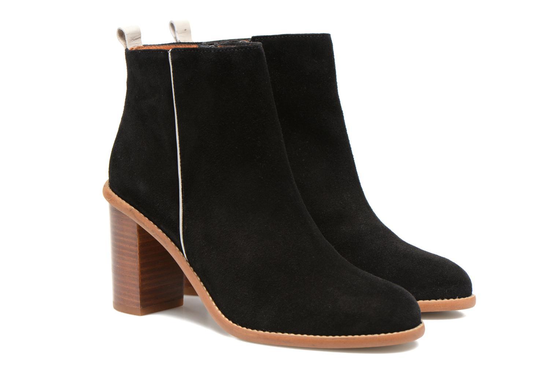 Ankelstøvler Made by SARENZA Western Fever #5 Sort se bagfra