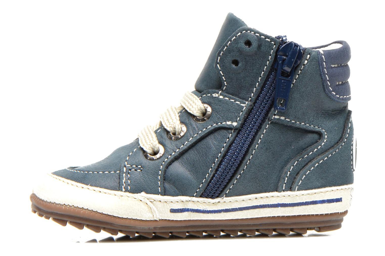 Sneaker Shoesme Spencer blau ansicht von vorne