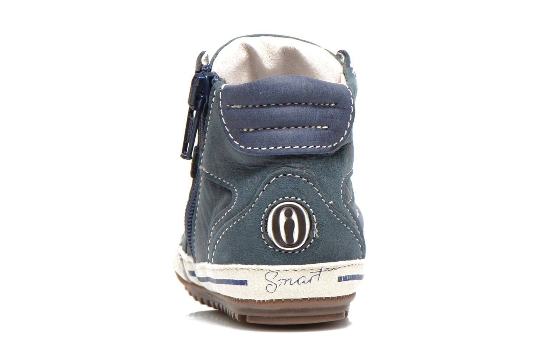 Sneaker Shoesme Spencer blau ansicht von rechts