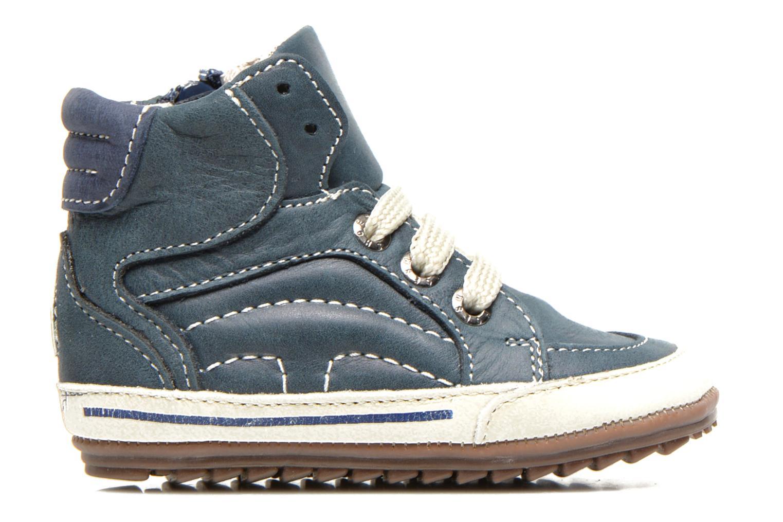 Sneaker Shoesme Spencer blau ansicht von hinten
