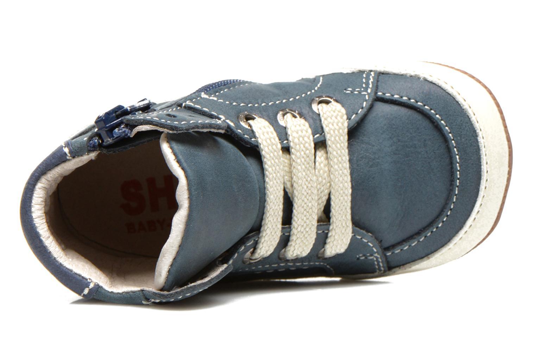 Sneaker Shoesme Spencer blau ansicht von links