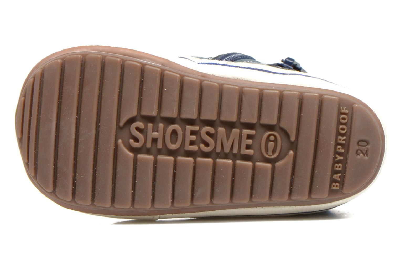 Sneaker Shoesme Spencer blau ansicht von oben