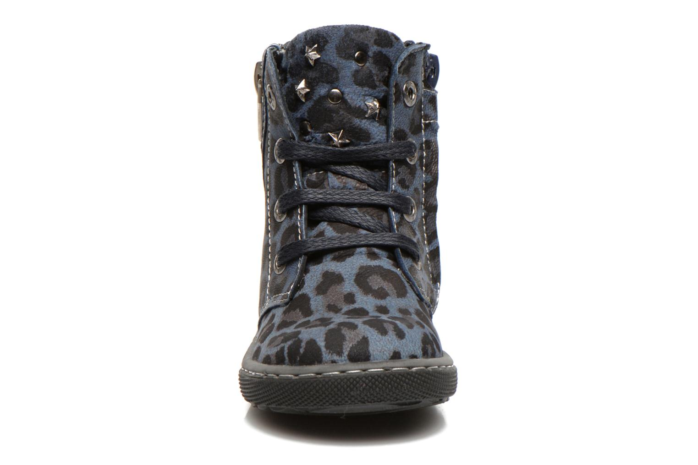 Bottines et boots Shoesme Shayla Bleu vue portées chaussures
