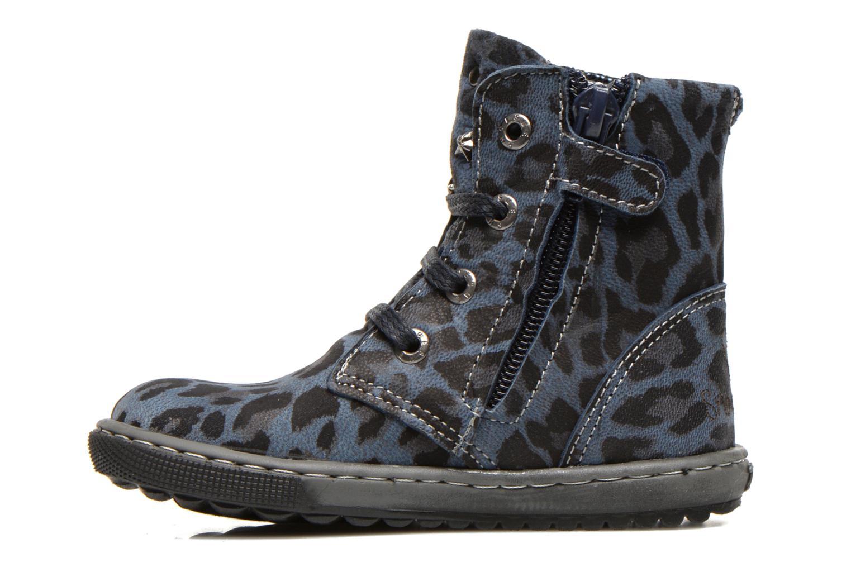 Bottines et boots Shoesme Shayla Bleu vue face