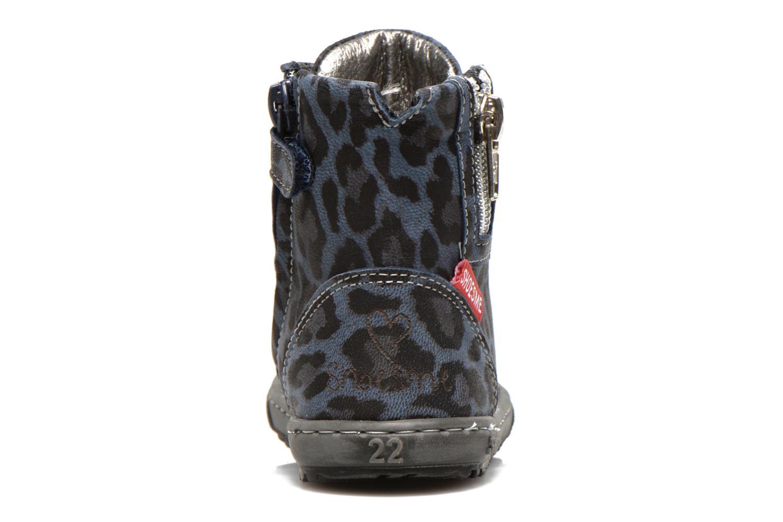 Bottines et boots Shoesme Shayla Bleu vue droite