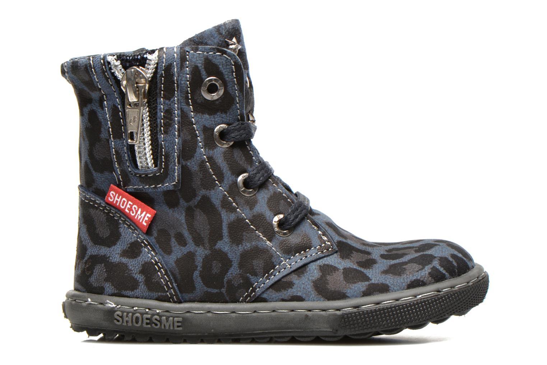 Bottines et boots Shoesme Shayla Bleu vue derrière