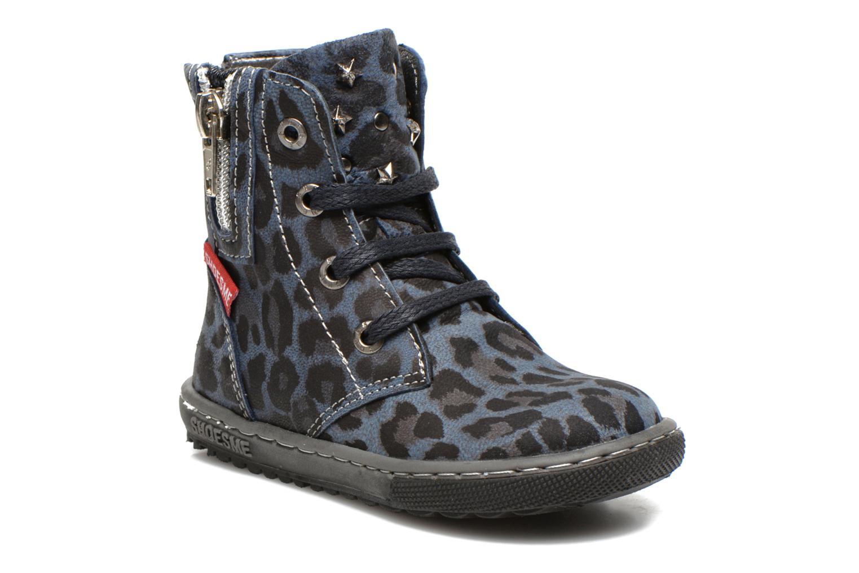 Bottines et boots Shoesme Shayla Bleu vue détail/paire