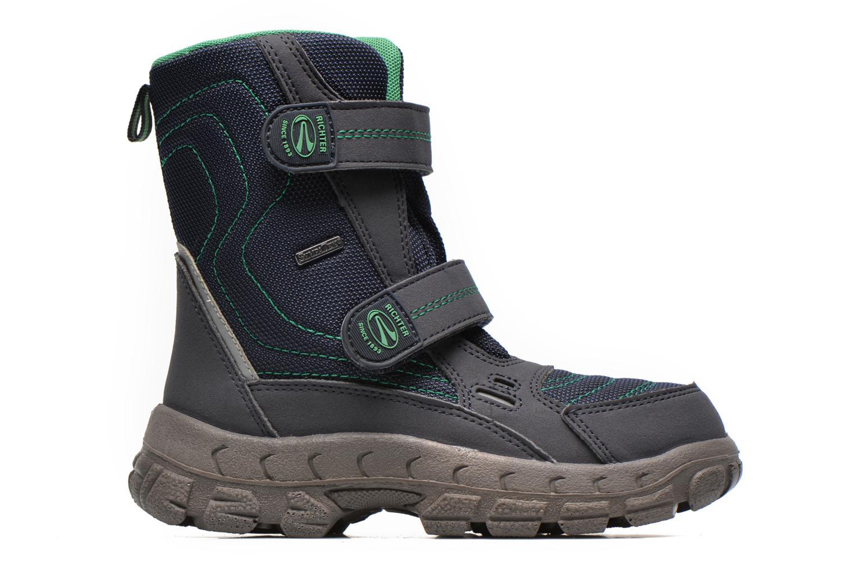 Boots en enkellaarsjes Richter Davos Blauw achterkant