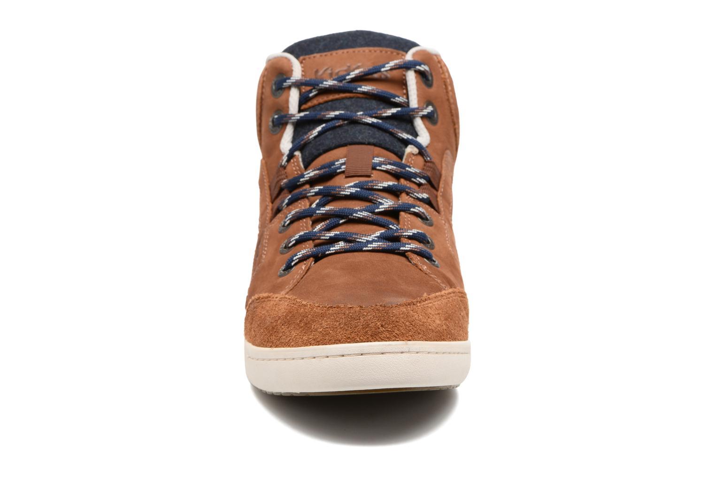 Sneaker Kickers CRAFFITI braun schuhe getragen