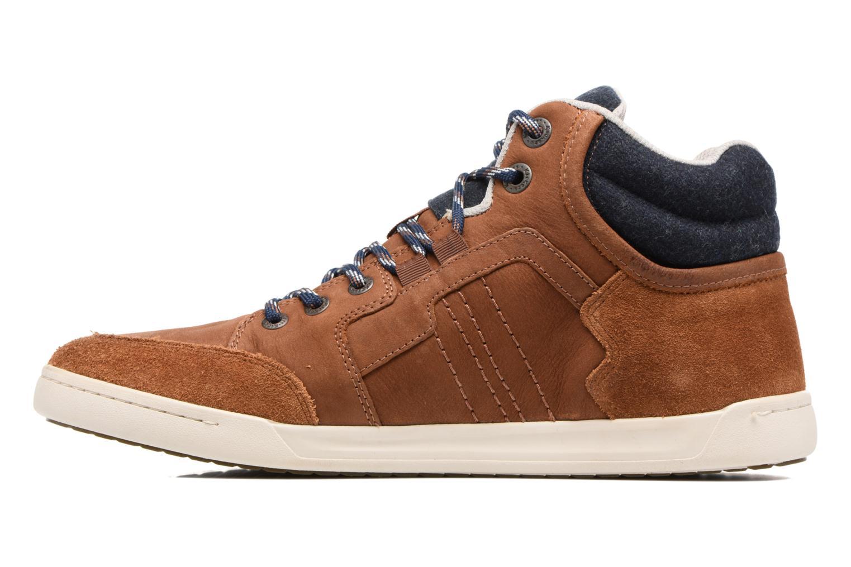 Sneaker Kickers CRAFFITI braun ansicht von vorne