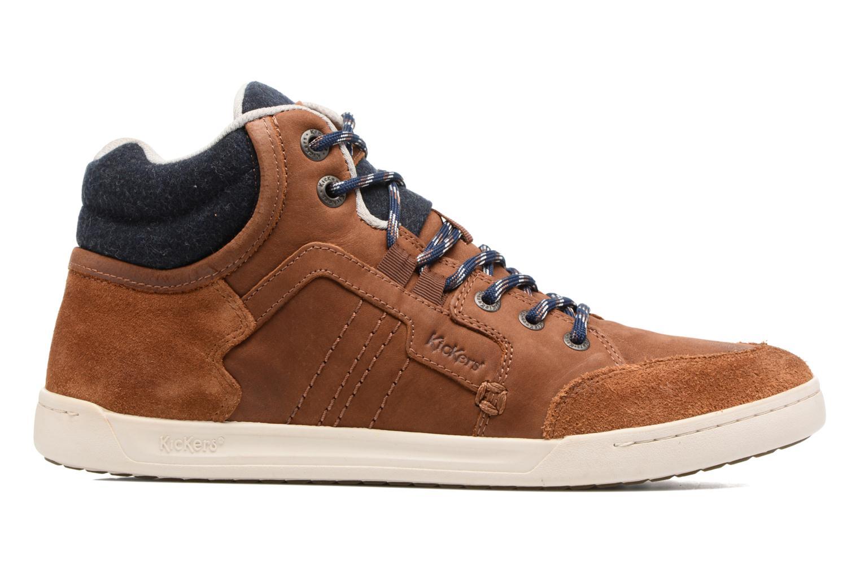 Sneaker Kickers CRAFFITI braun ansicht von hinten
