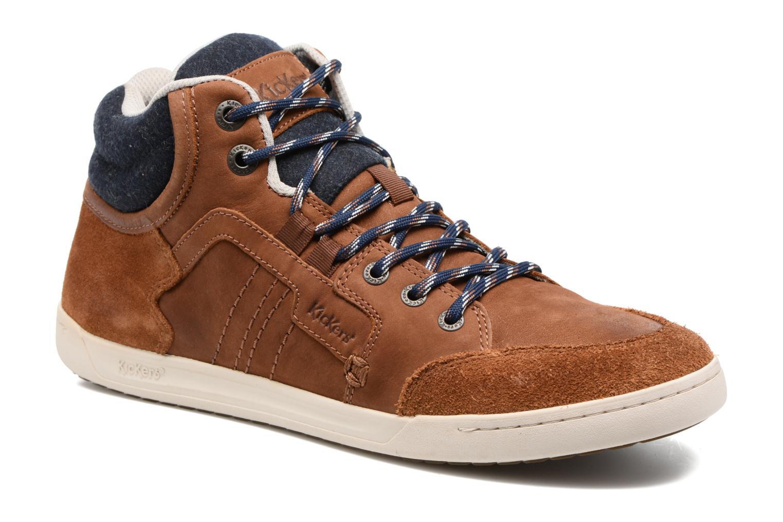 Sneaker Kickers CRAFFITI braun detaillierte ansicht/modell
