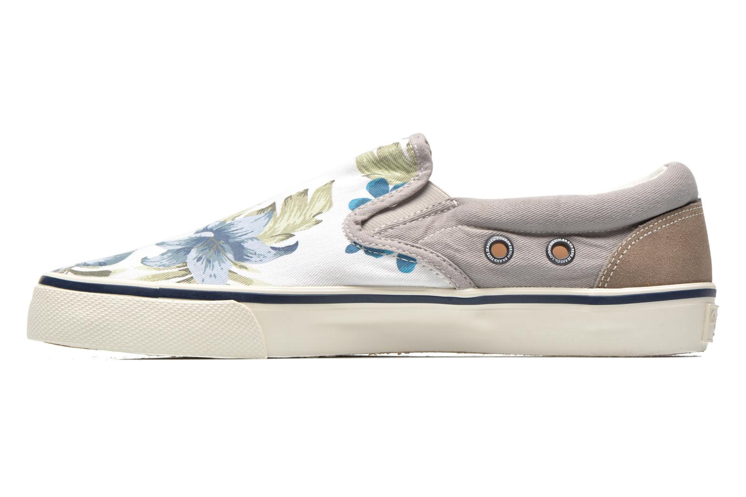 Deportivas Pepe jeans Harry Slip On Gris vista de frente