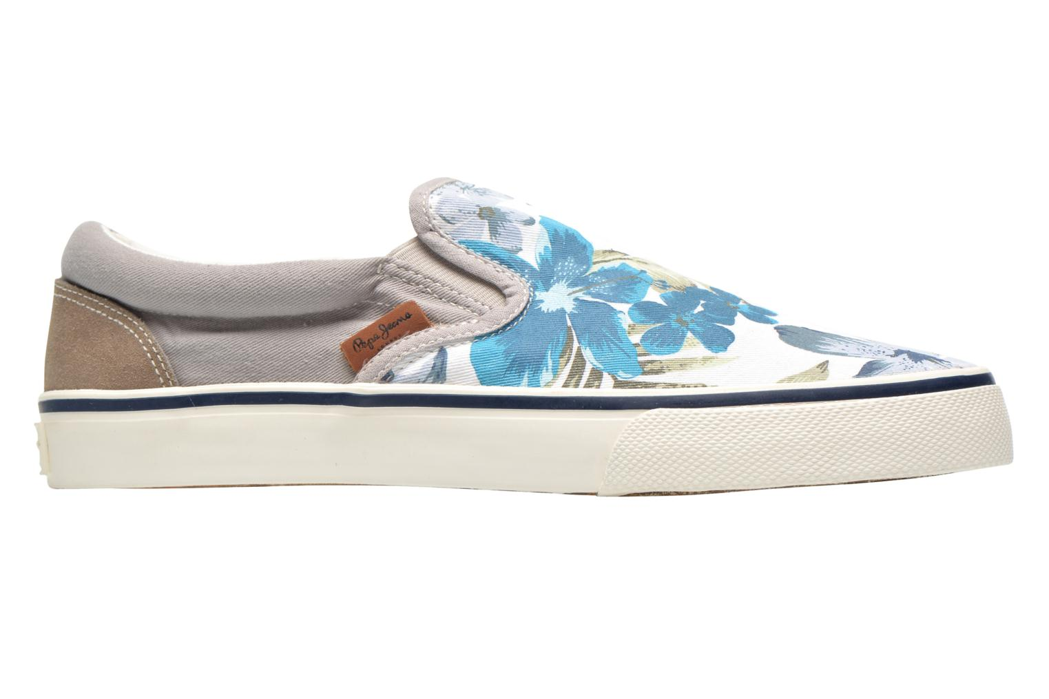 Deportivas Pepe jeans Harry Slip On Gris vistra trasera