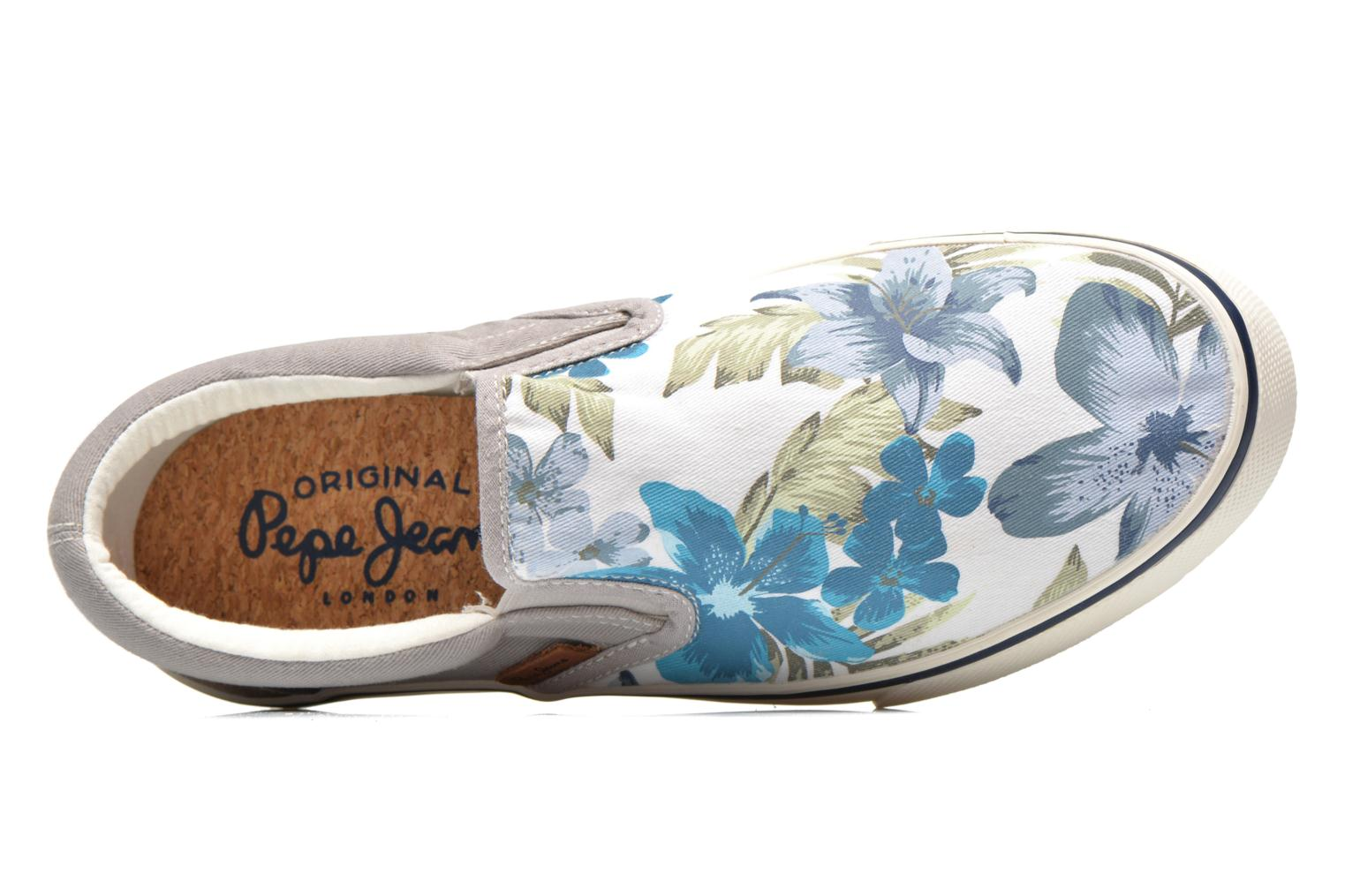 Sneakers Pepe jeans Harry Slip On Grigio immagine sinistra