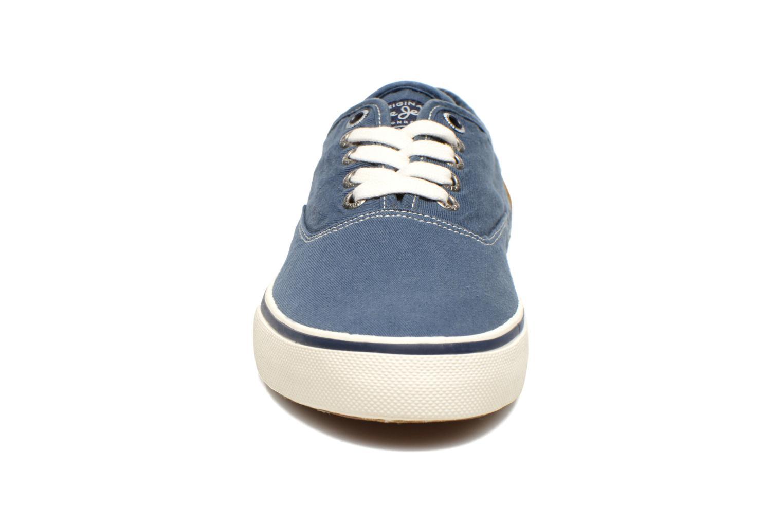 Baskets Pepe jeans Harry Classic Bleu vue portées chaussures