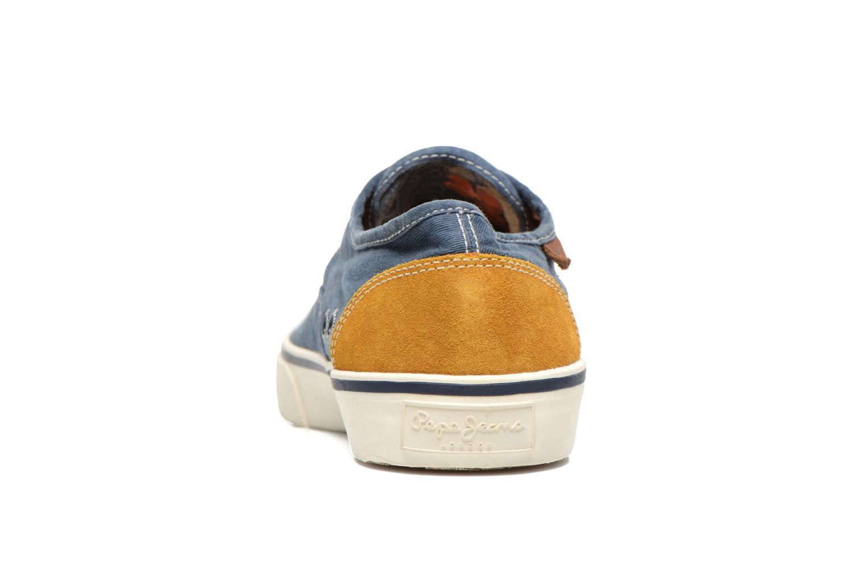 Baskets Pepe jeans Harry Classic Bleu vue droite