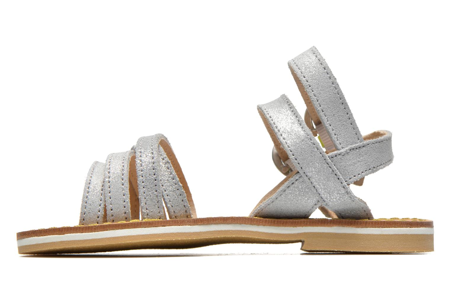 Sandals Pepe jeans Tracy Basic K Silver front view