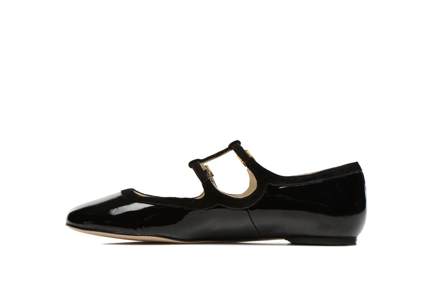 Ballet pumps Georgia Rose Tania Black front view