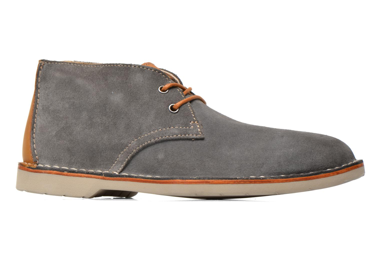 Hinton Rise Denim blue suede