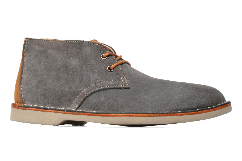 Chaussures à lacets Clarks Hinton Rise Gris vue derrière