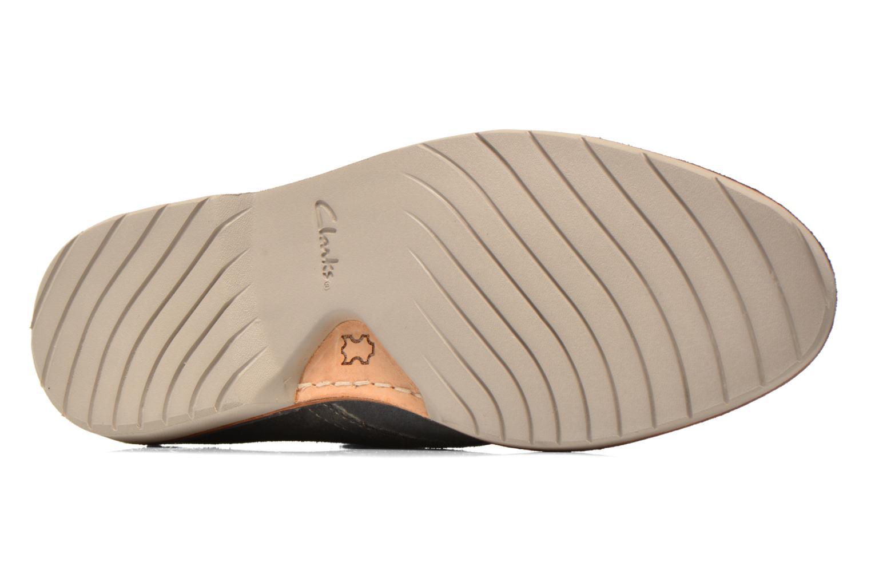Chaussures à lacets Clarks Hinton Rise Gris vue haut