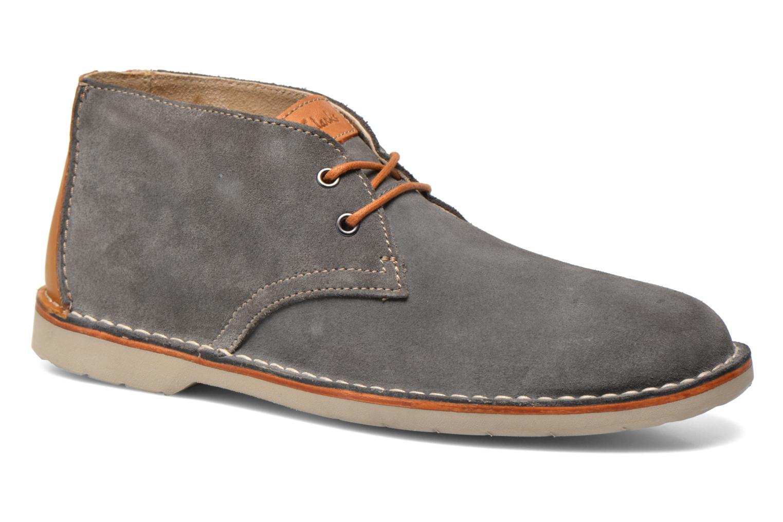 Chaussures à lacets Clarks Hinton Rise Gris vue détail/paire