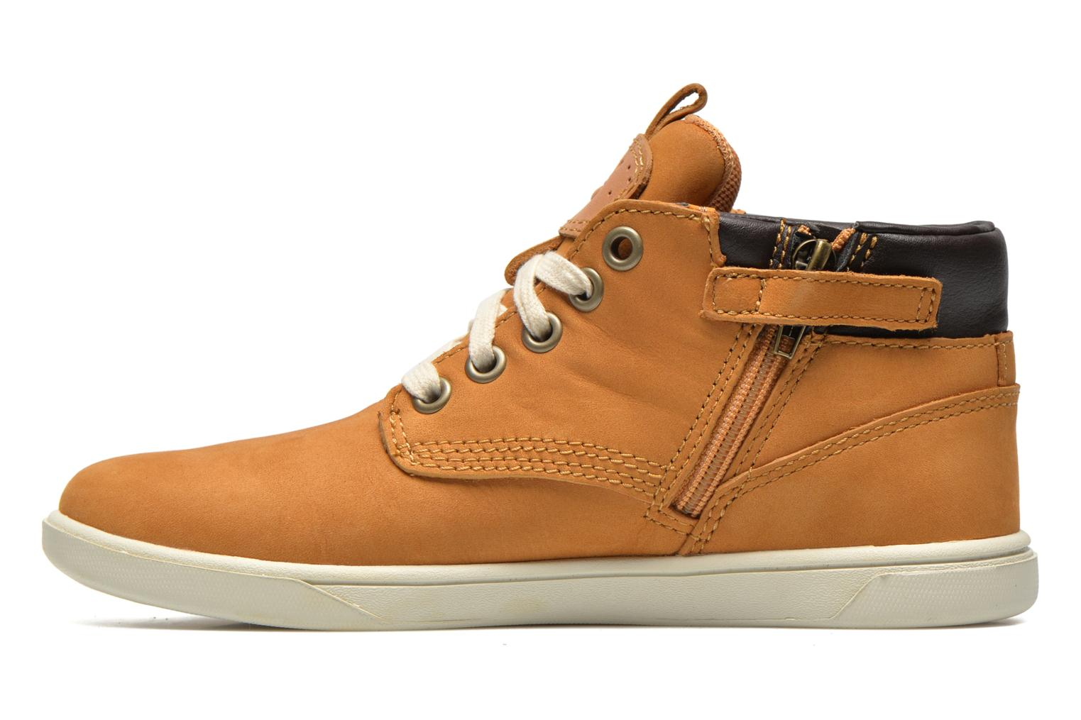 Sneakers Timberland Groveton Leather Chukka Beige se forfra