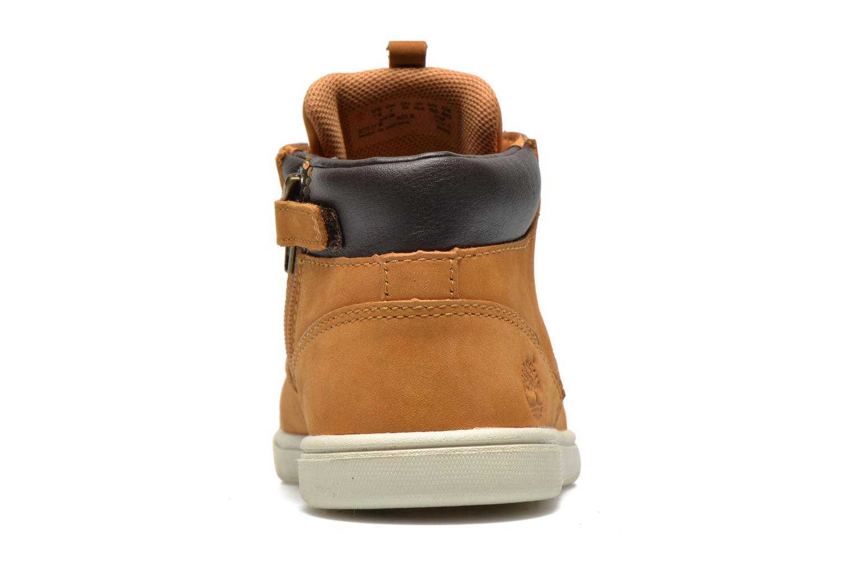 Sneaker Timberland Groveton Leather Chukka beige ansicht von rechts