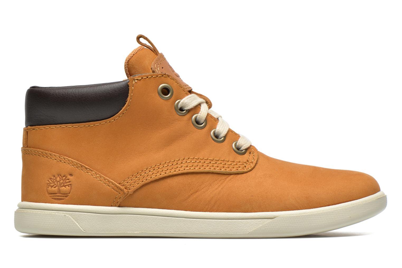 Sneaker Timberland Groveton Leather Chukka beige ansicht von hinten