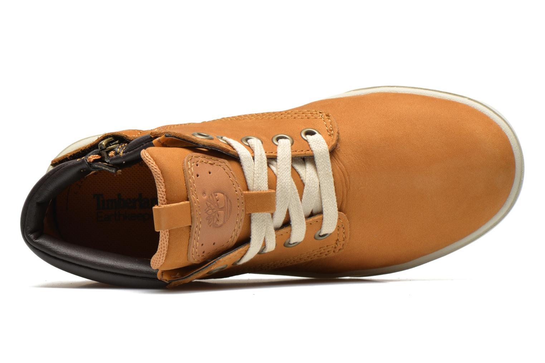 Sneaker Timberland Groveton Leather Chukka beige ansicht von links