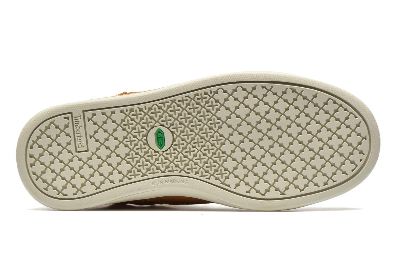 Sneaker Timberland Groveton Leather Chukka beige ansicht von oben