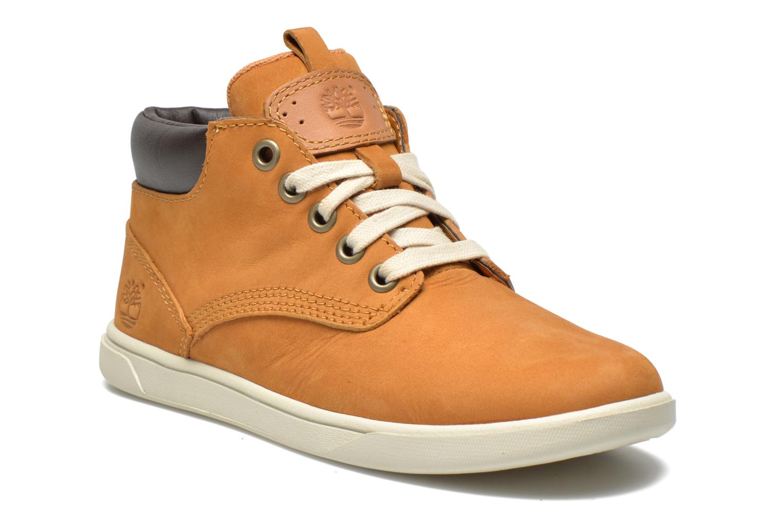 Sneakers Timberland Groveton Leather Chukka Beige vedi dettaglio/paio