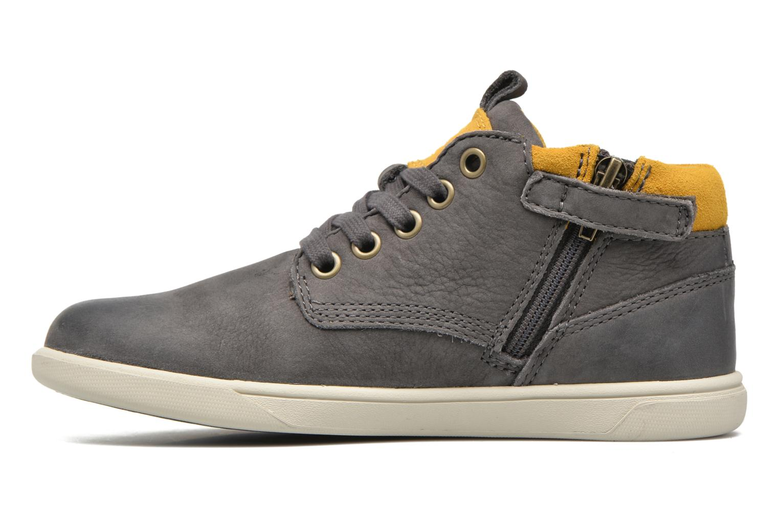 Sneakers Timberland Groveton Leather Chukka Grijs voorkant