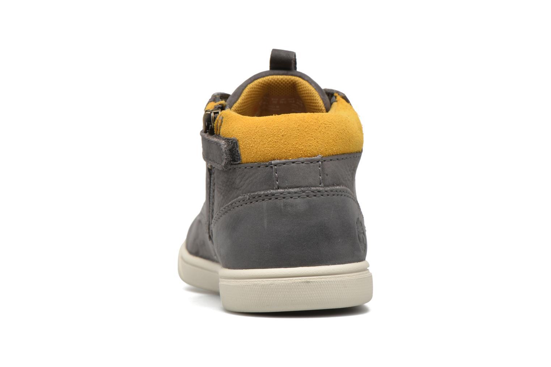 Sneaker Timberland Groveton Leather Chukka grau ansicht von rechts