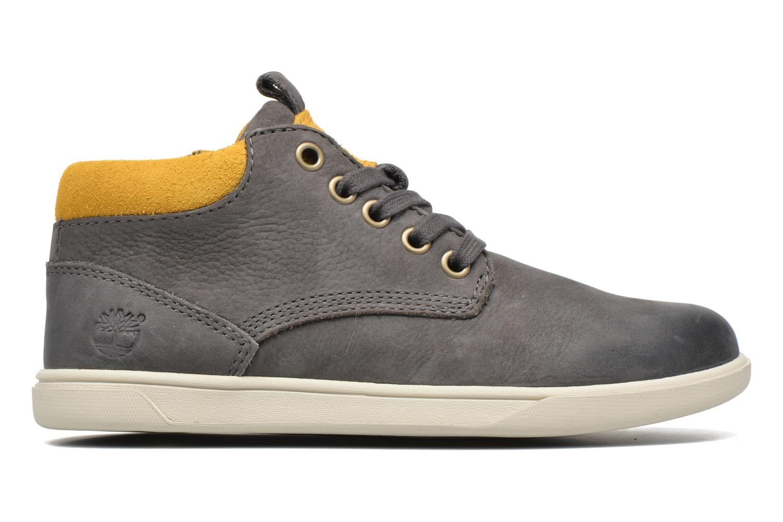 Sneaker Timberland Groveton Leather Chukka grau ansicht von hinten