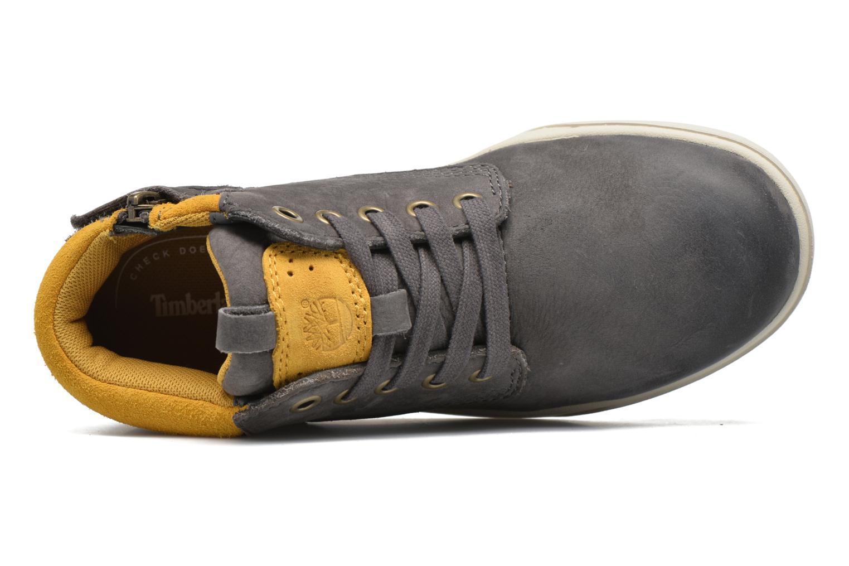 Sneaker Timberland Groveton Leather Chukka grau ansicht von links
