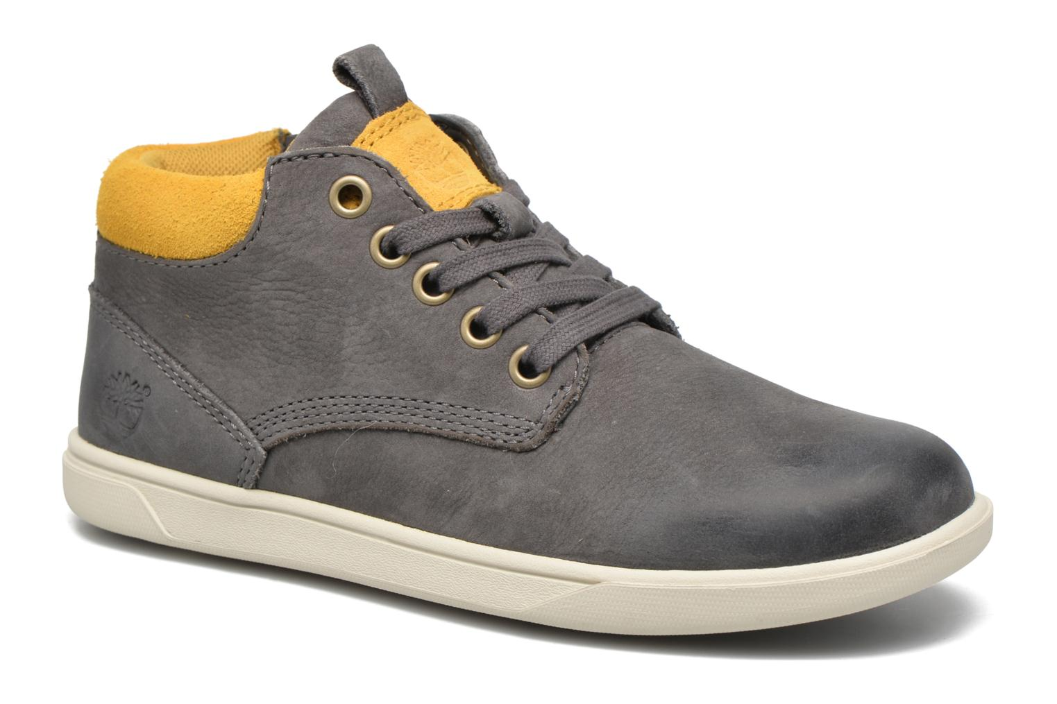 Baskets Timberland Groveton Leather Chukka Gris vue détail/paire