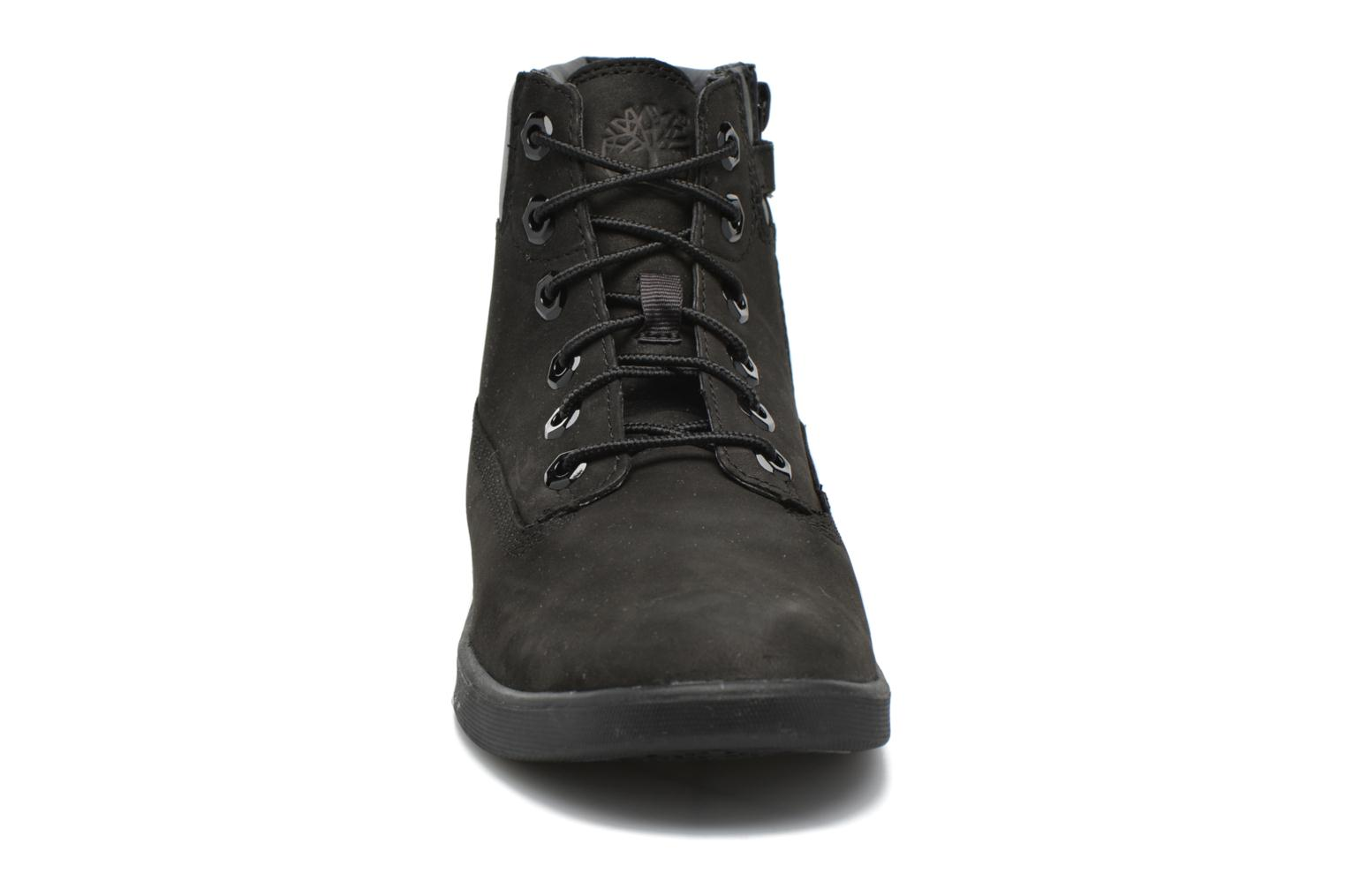 Bottines et boots Timberland Groveton 6In Lace with si Noir vue portées chaussures