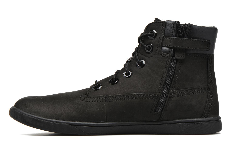 Boots en enkellaarsjes Timberland Groveton 6In Lace with si Zwart voorkant