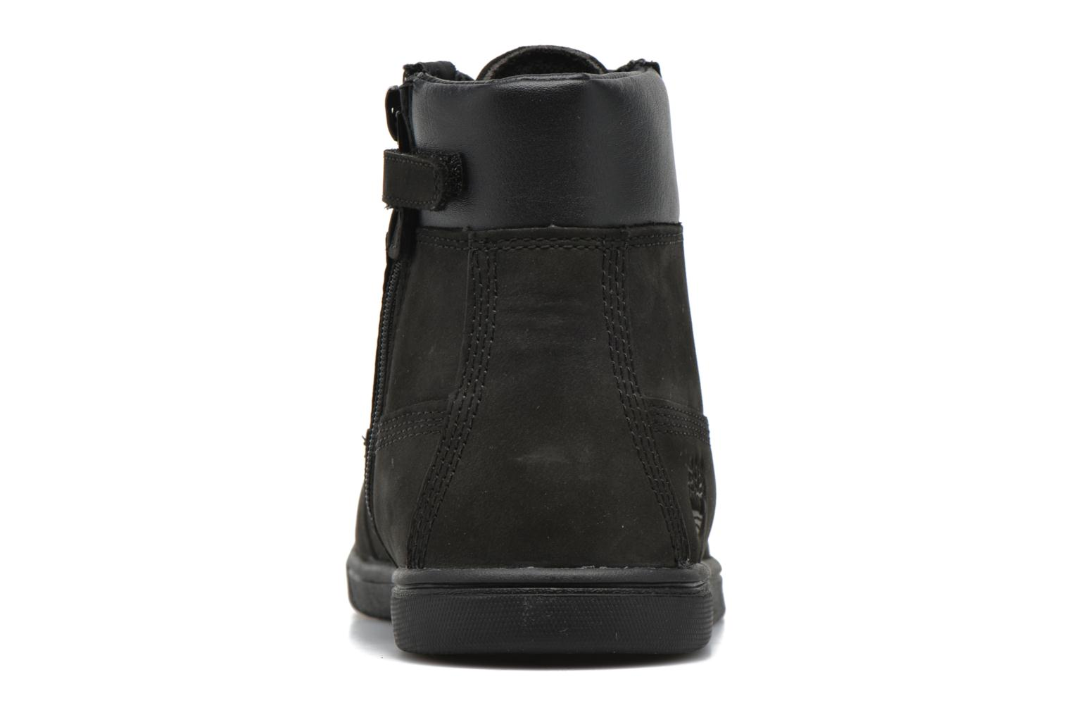 Bottines et boots Timberland Groveton 6In Lace with si Noir vue droite