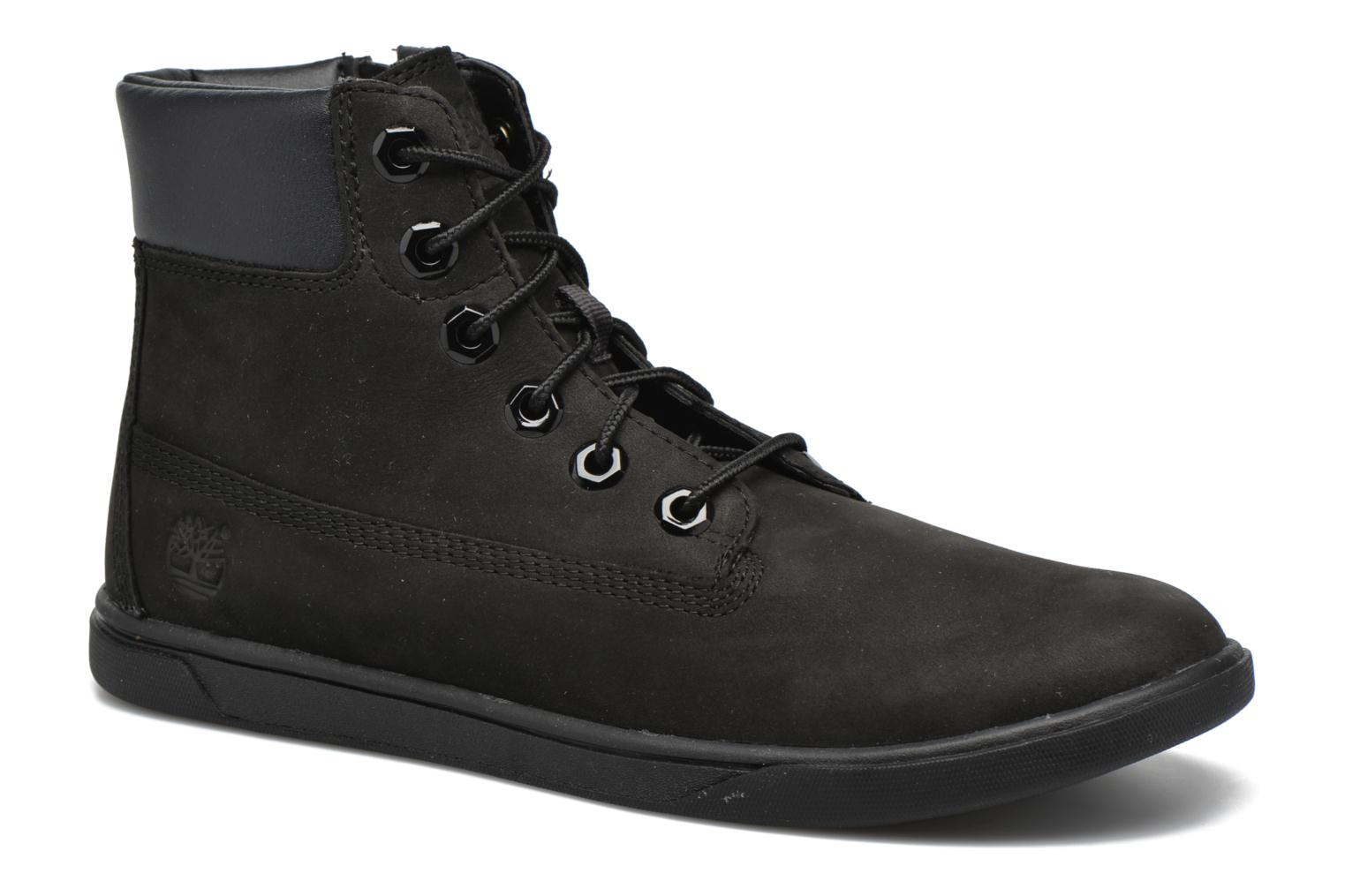 Bottines et boots Timberland Groveton 6In Lace with si Noir vue détail/paire