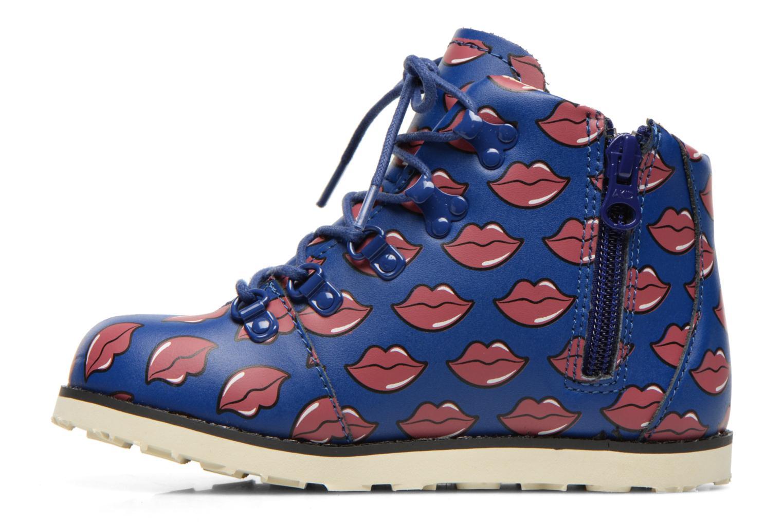 Bottines et boots Akid Jasper Bleu vue face