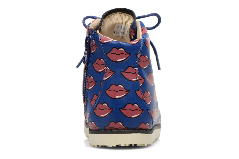 Bottines et boots Akid Jasper Bleu vue droite