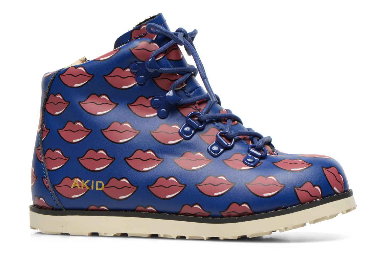 Bottines et boots Akid Jasper Bleu vue derrière